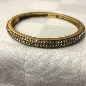 Pre loved J. Crew bejeweled bangle.
